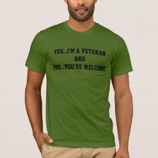 I'm a veteran T-Shirt