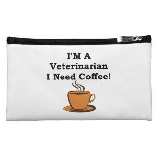 I'M A Veterinarian, I Need Coffee! Cosmetic Bag