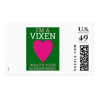 I'M A VIXEN, WHAT'S YOUR SUPERPOWER? U.S. Postage