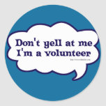 I'm a Volunteer Stickers