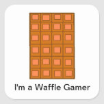 """""""I'm A Waggle Gamer"""" Stickers"""