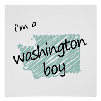 I'm a Washington Boy Poster