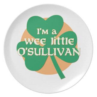 I'm a Wee Little O'Sullivan Dinner Plates