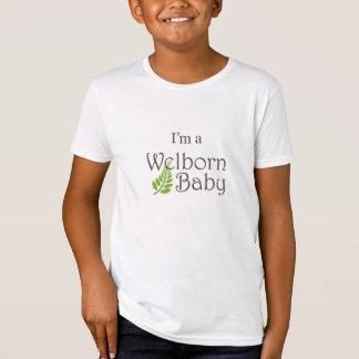"""I'm a Welborn Baby Baby"" Big Kid Shirt"