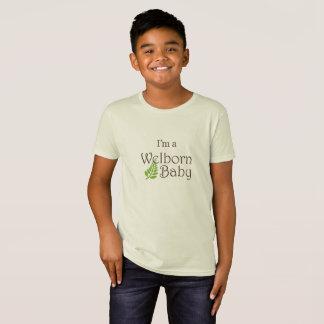 """I'm a Welborn Baby Baby"" Organic Big Kid Shirt"