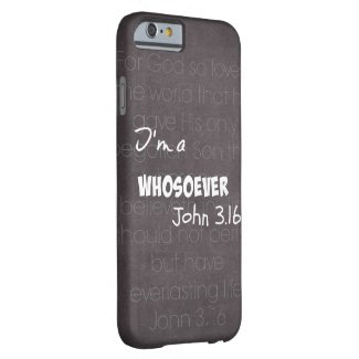 I'm a whosoever iPhone 6 case