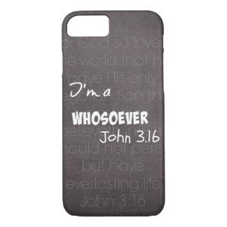 I'm a whosoever iPhone 8/7 case