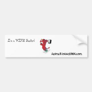 I'm a WIFE Beater! , AnimalHouse Sticker