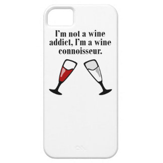 I'm A Wine Connoisseur iPhone 5/5S Cover