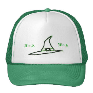 I'm A Witch Trucker Hat