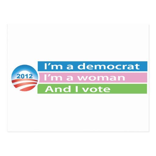 I'm a Woman and I Vote! Postcards