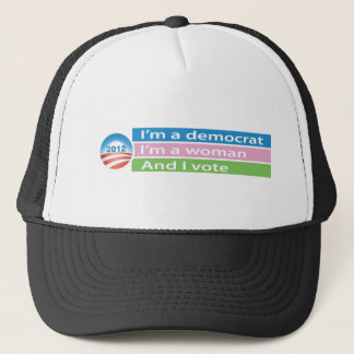 I'm a Woman and I Vote! Trucker Hat