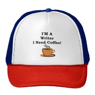 I'M A Writer, I Need Coffee! Trucker Hat