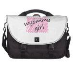 I'm a Wyoming Girl Laptop Messenger Bag