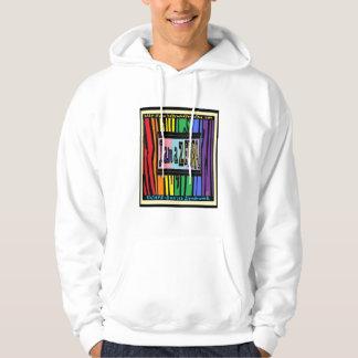 I'm a Zebra Grey Hooded Sweatshirt
