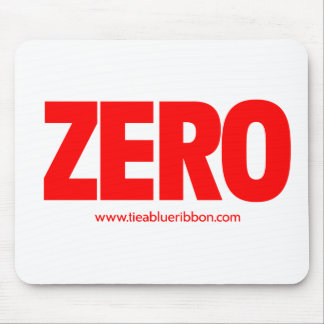 I'm A Zero Mouse Pad
