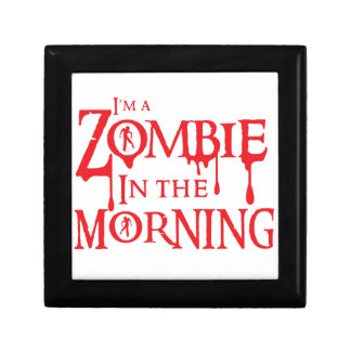 I'm a ZOMBIE in the morning Gift Box