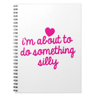 I'm about to do something Silly Notebook