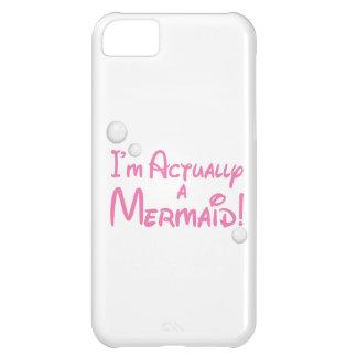 I'm actually a Mermaid Design iPhone 5C Case