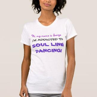 I'm Addicted! Soul Line Dancing T-Shirt