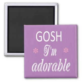 I'm Adorable GIAb Magnet
