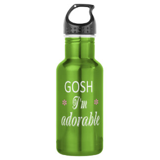 I'm Adorable GIAb Stainless Steel Water Bottle