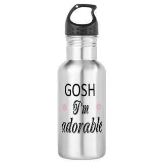 I'm Adorable GIAb Water Bottle