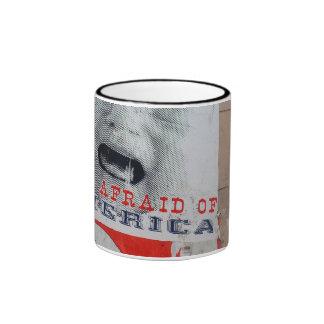 I'm Afraid of America Ringer Coffee Mug