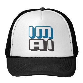 IM AI - I Am General Artificial Intelligence, Blue Trucker Hat