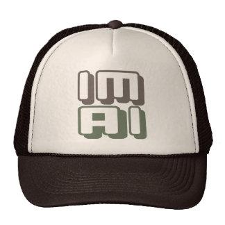 IM AI - I Am General Artificial Intelligence, Camo Trucker Hat