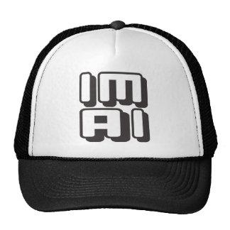 IM AI - I Am General Artificial Intelligence, Onyx Trucker Hat