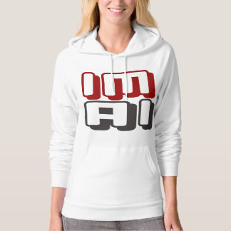 IM AI - I Am General Artificial Intelligence, Red Hoodie