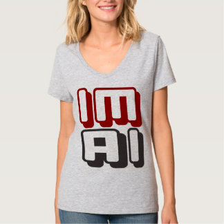 IM AI - I Am General Artificial Intelligence, Red T-Shirt
