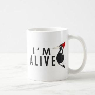 I'm Alive - Ivory Billed Woodpecker Coffee Mug