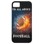 I'M ALL ABOUT FOOTBALL iPhone 5 CASE