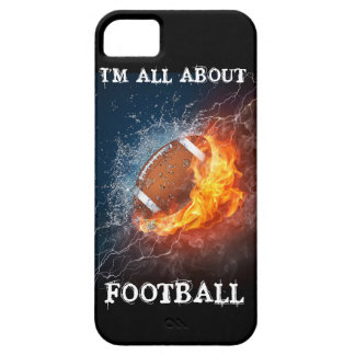 I'M ALL ABOUT FOOTBALL iPhone SE/5/5s CASE