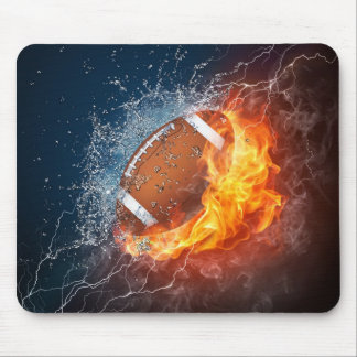I'M ALL ABOUT FOOTBALL MOUSE PAD