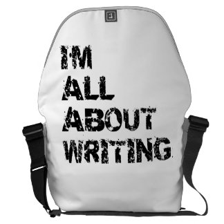 I'm All About Writing Courier Bag