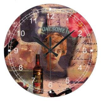 I'm All at Sea Large Clock
