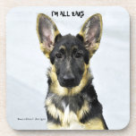 I'M ALL EARS DRINK COASTERS