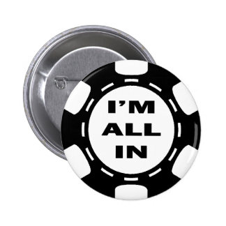 I'M ALL IN POKER CHIP PIN