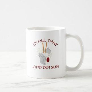 I'm All That and Dim Sum Classic White Coffee Mug