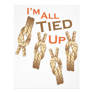 I'm All Tied Up Letterhead