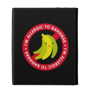 I'm allergic to bananas! Banana allergy iPad Case