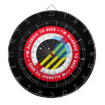 I'm allergic to bees! dart boards