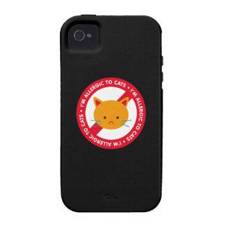 I'm allergic to cats! Cat allergy iPhone 4/4S Cases