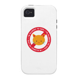 I'm allergic to cats! Cat allergy Vibe iPhone 4 Cover