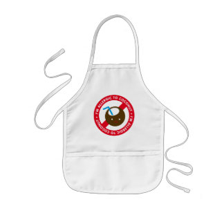 I'm allergic to coconuts! Coconut allergy Kids' Apron