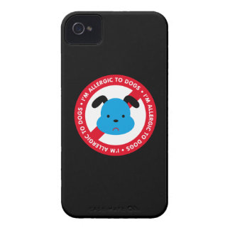 I'm allergic to dogs! Dog allergy iPhone 4 Covers