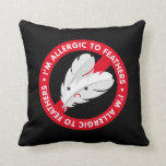 I'm allergic to feathers! Feather allergy Pillow